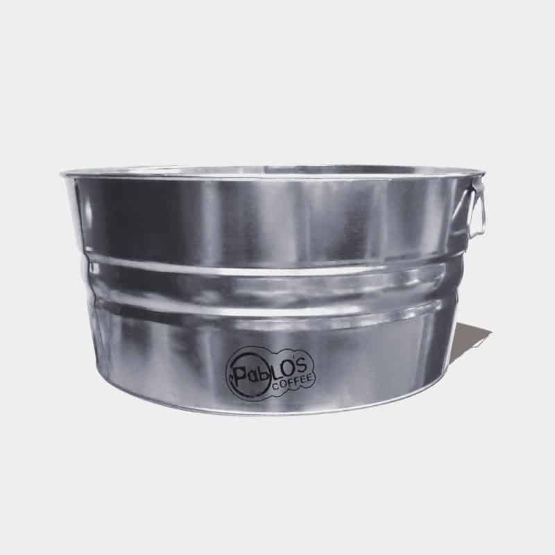 Galvanized Round Metal Tubs For Sale - Custom Printed 55 Quart Tub