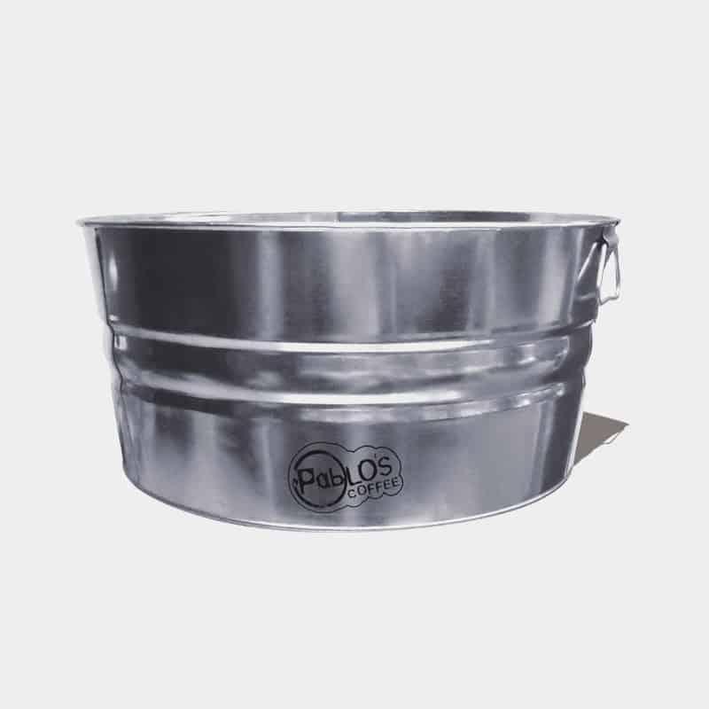 Galvanized Round Metal Tubs For Sale - Custom Printed 55 Quart Tub