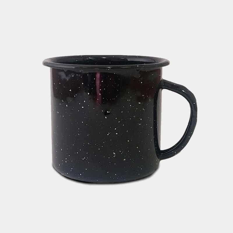Promotional Enamel Cups Black